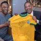 Pelé e Will Smith