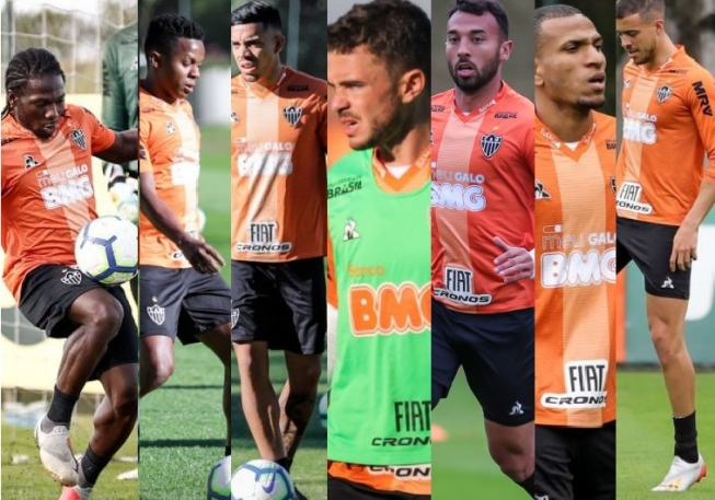 O elenco do Galo é composto por sete estrangeiros