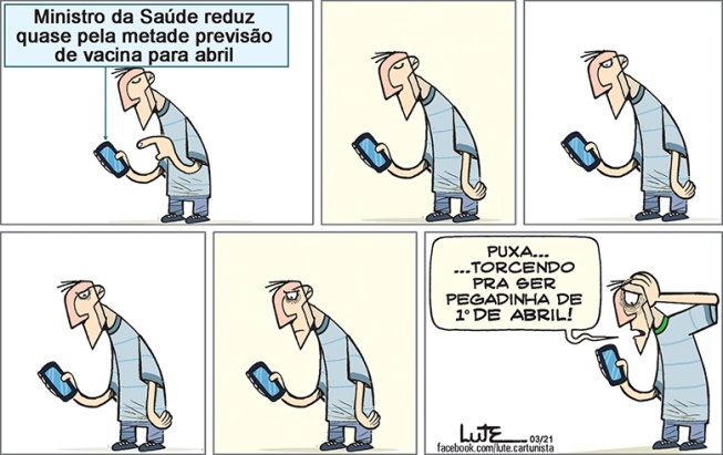 Charge do Lute - 01/04/2021